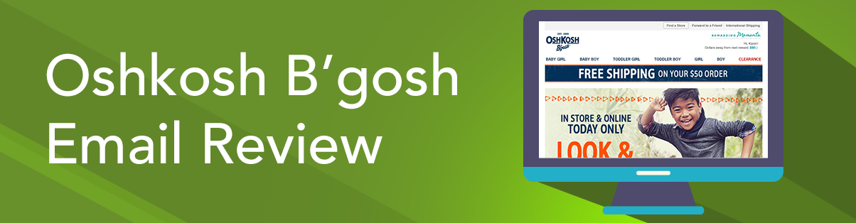 Oshkosh B'gosh Email Review: Does It Make You Leap for Joy and Convert?